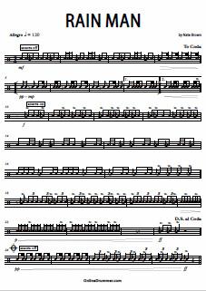 Rain Man – Snare Solo