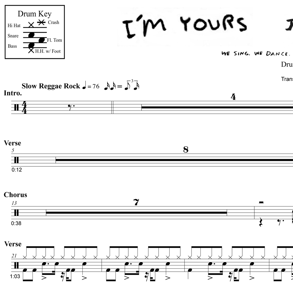 Techniques From I'm Yours - Jason Mraz