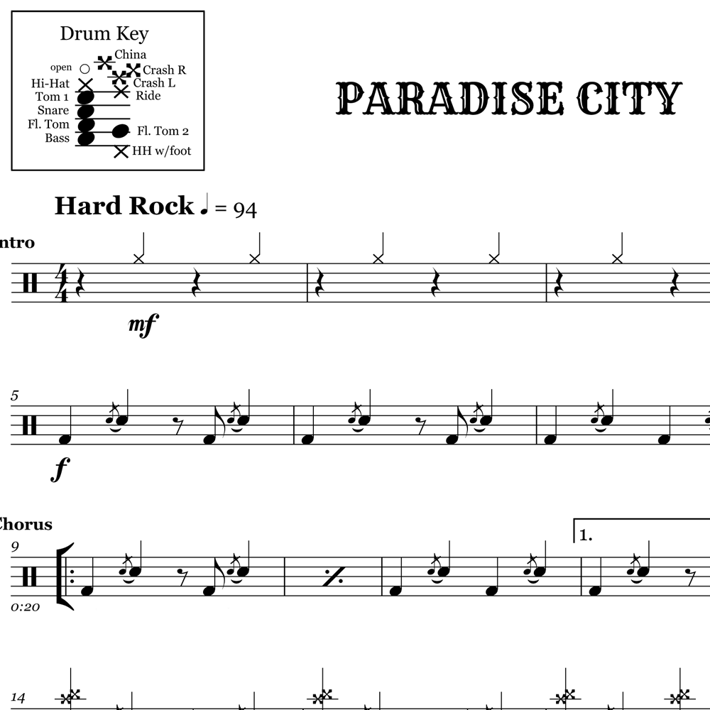 Time-Tested Power Fill - Paradise City
