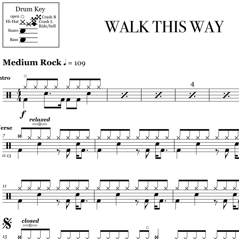 Drum Fills From Walk This Way