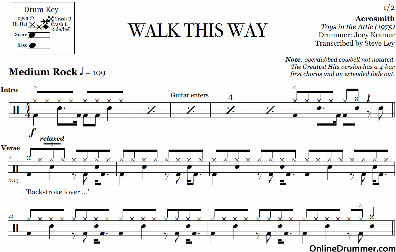 It is a picture of Exhilarating Free Printable Drum Sheet Music