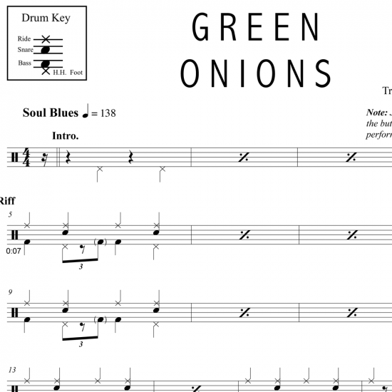Green Onions – Booker T. & The M.G.s