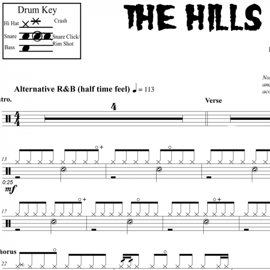 The Hills – The Weeknd