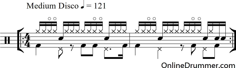 Картинки ноты для барабанов