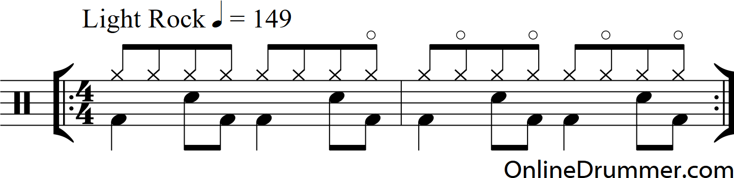 Hi-hat Technique from Sultans of Swing