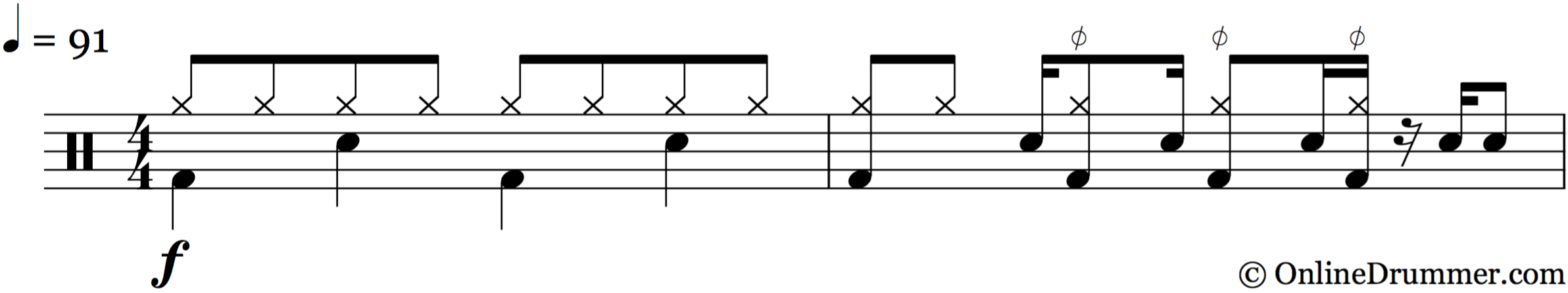 Back in Black – AC/DC Drum Fill