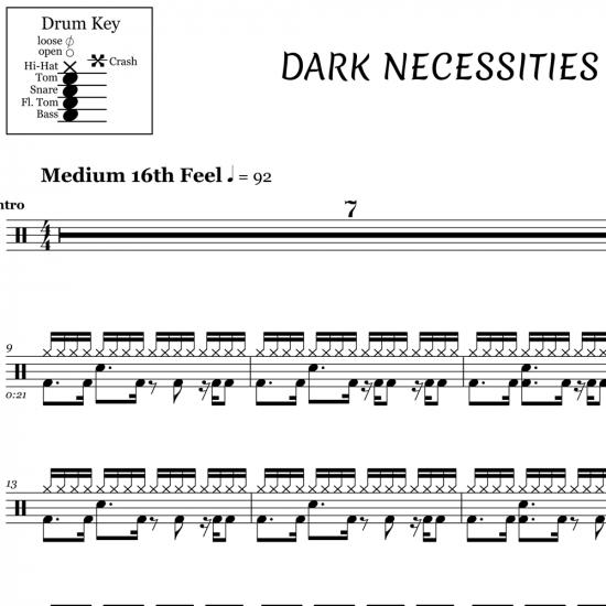 Dark Necessities – Red Hot Chili Peppers