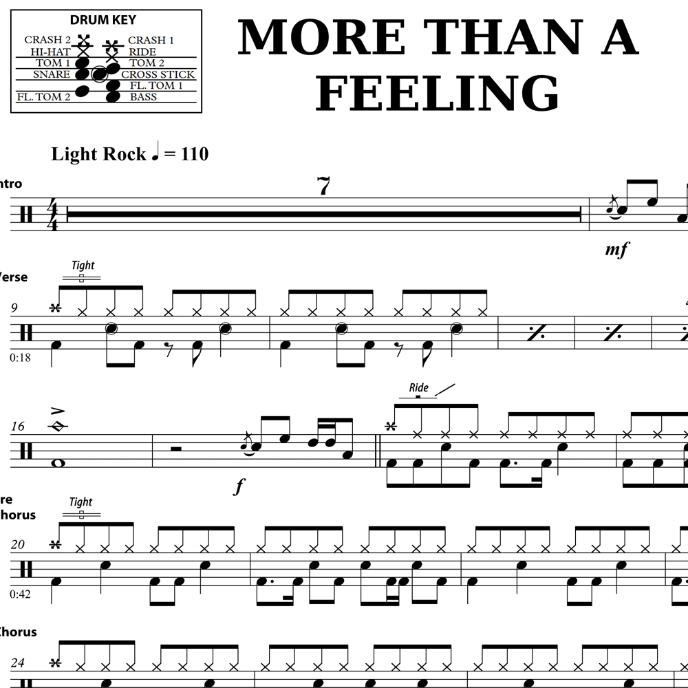 More Than A Feeling - Classic Fills