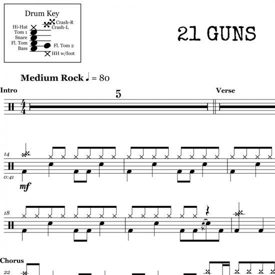 21 Guns – Green Day