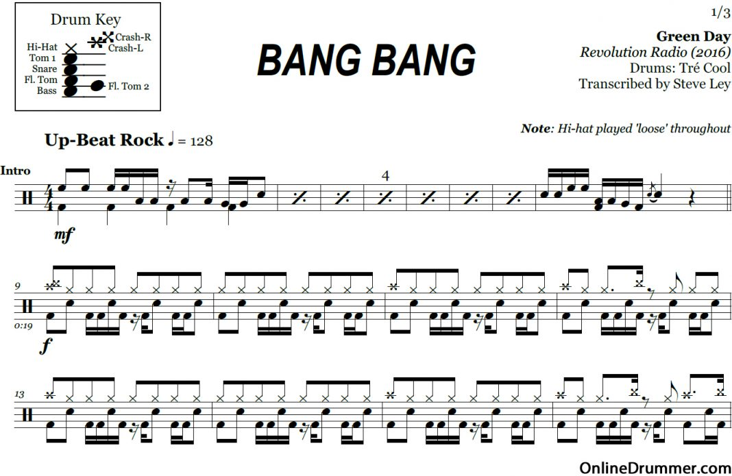 green day piano sheet music pdf