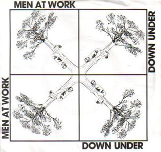 Down Under - Men at Work - Drum Sheet Music