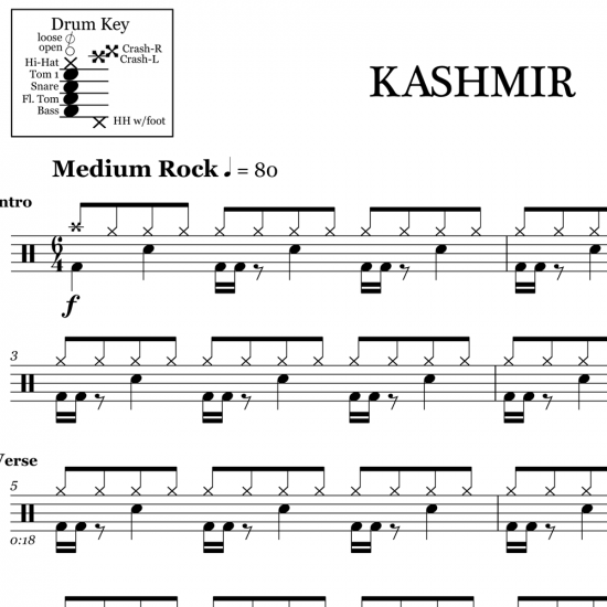 Kashmir – Led Zeppelin