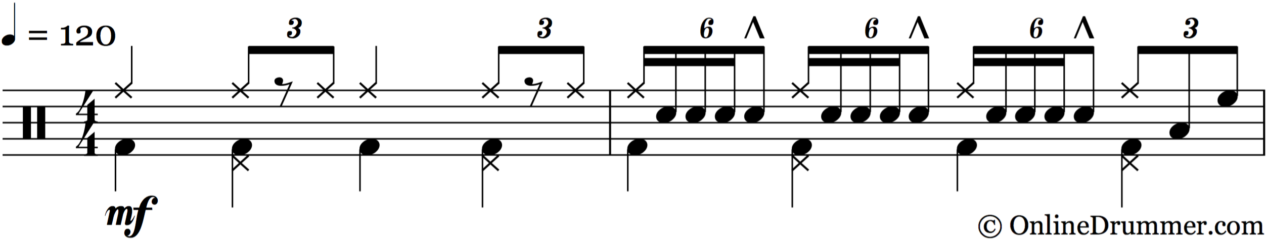 Paradiddle 5-Stroke Lick