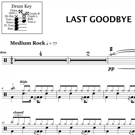 Last Goodbye - Jeff Buckley
