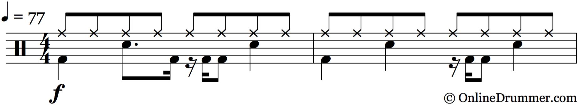 Last Goodbye – Jeff Buckley - Drum Beat