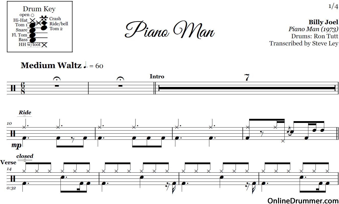 It is an image of Vibrant Free Printable Drum Sheet Music