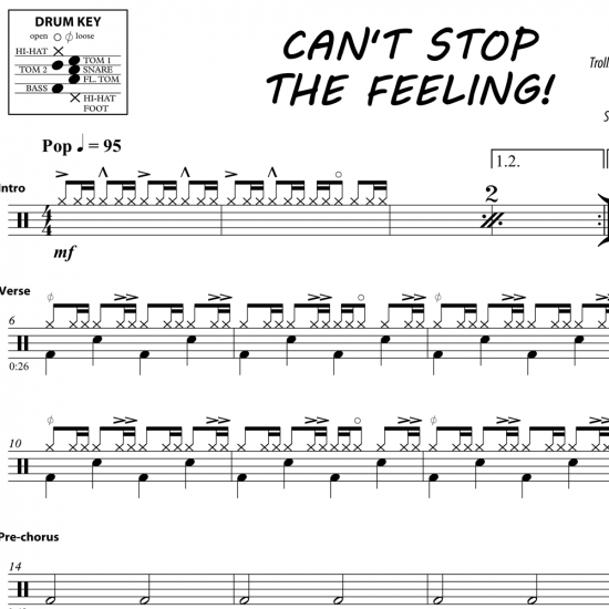 Can't Stop The Feeling – Justin Timberlake