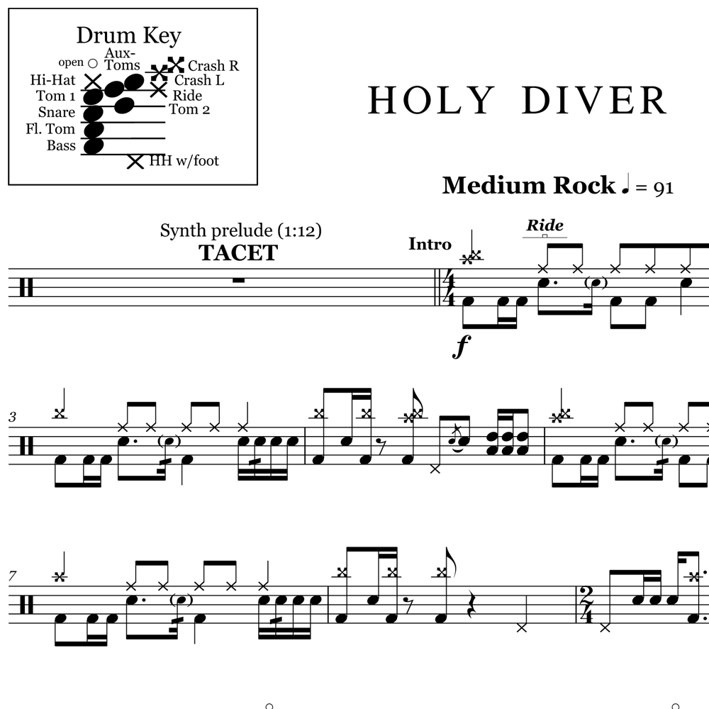 Learn a Lick from Holy Diver by Dio