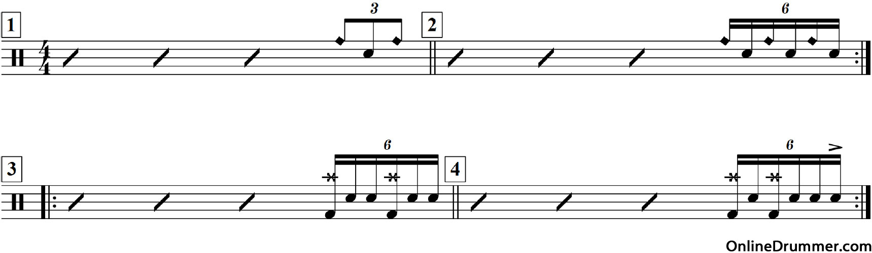 Short Triplet Fills You Can Play Today!