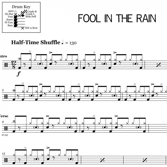 Fool in the Rain - Led Zeppelin
