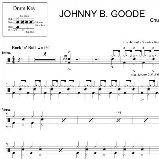 Johnny B Goode – Chuck Berry