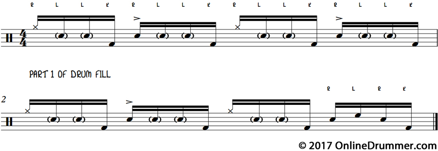 Monster Drum Fill - Part 1