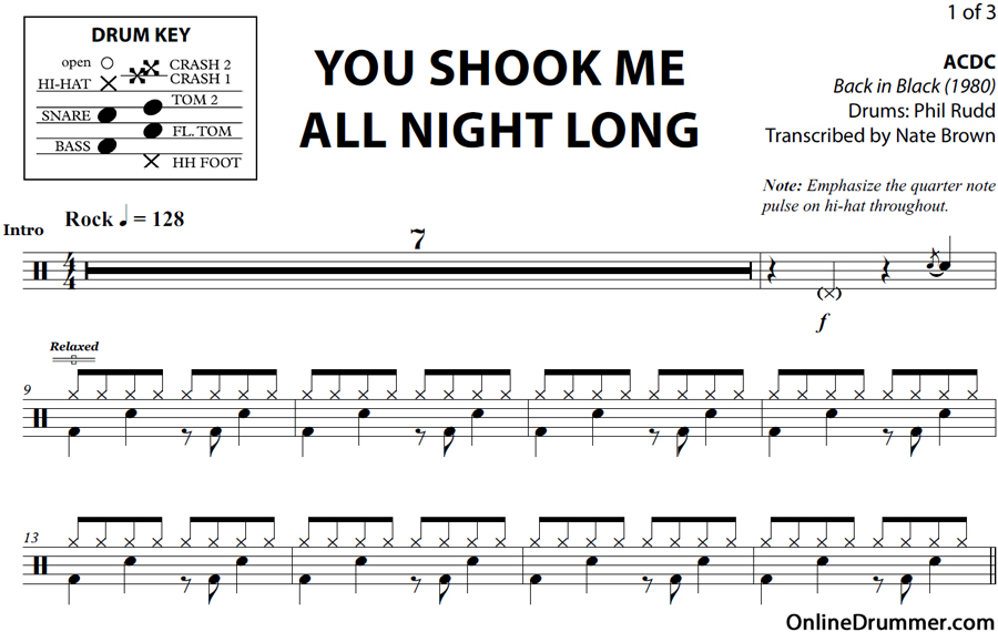 Eloquent image inside free printable drum sheet music