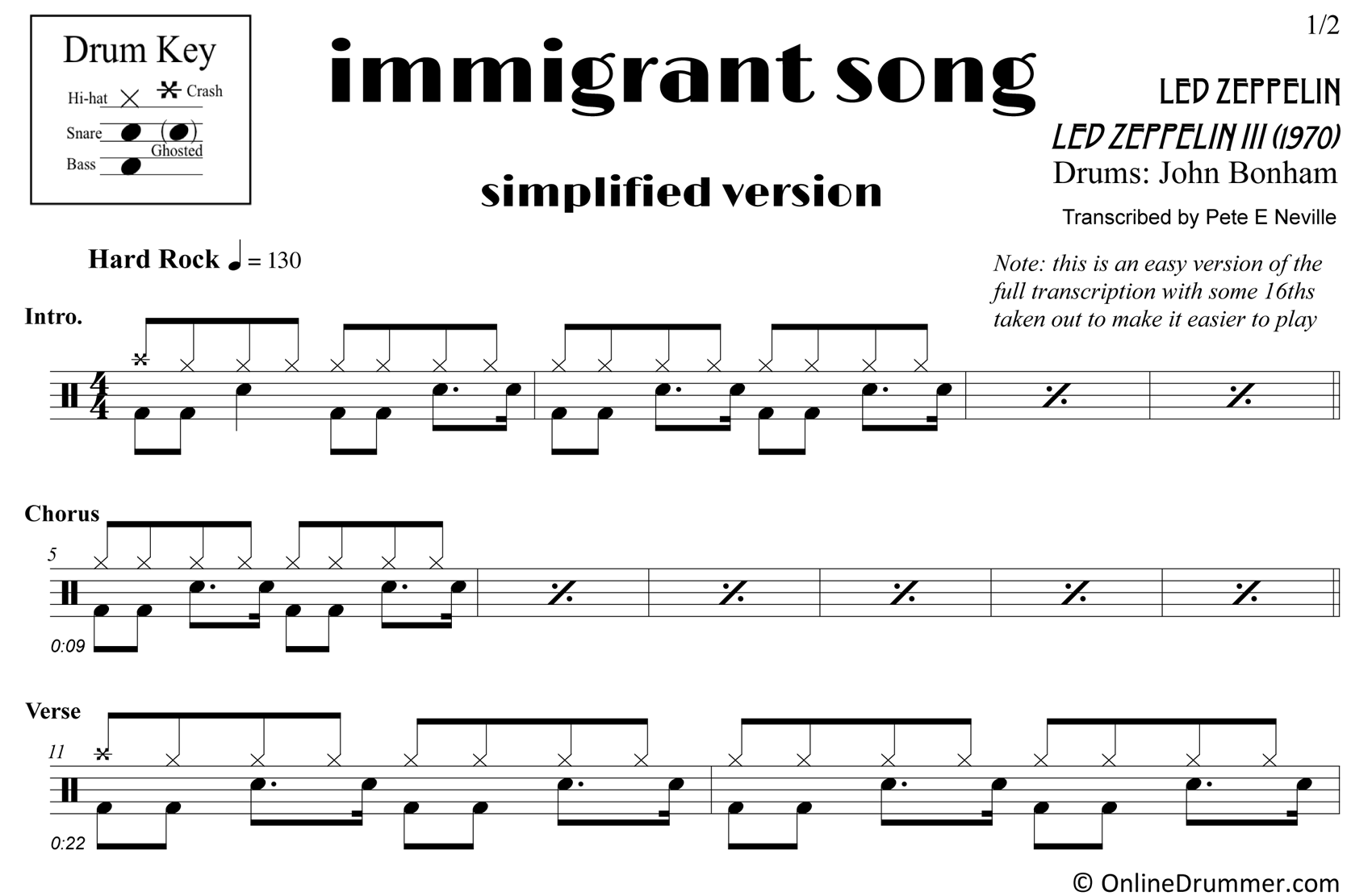 Immigrant Song - Sample