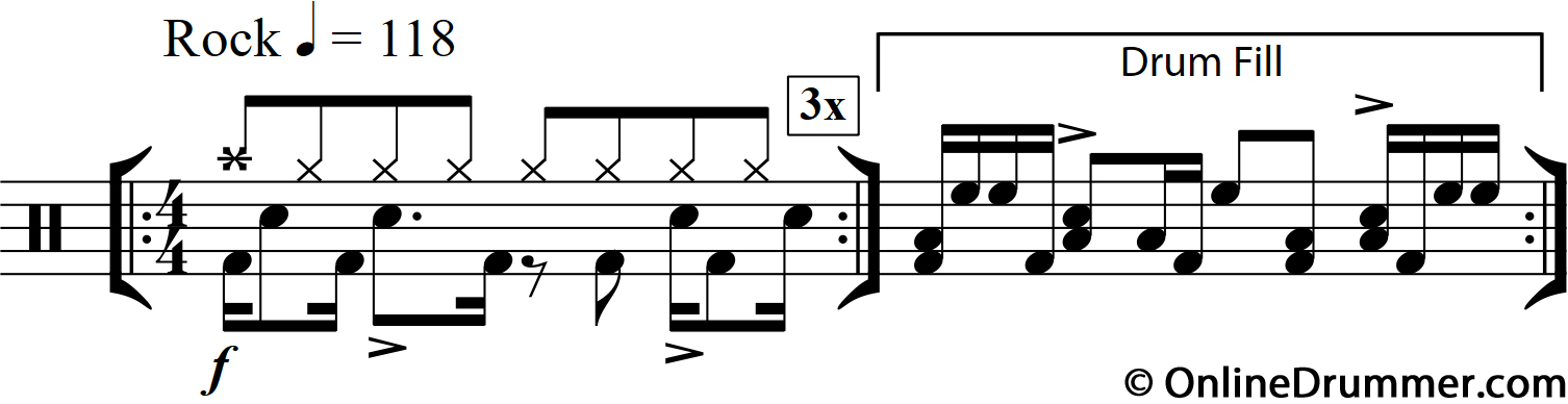 Moving Hands - Simple Drum Fill Technique