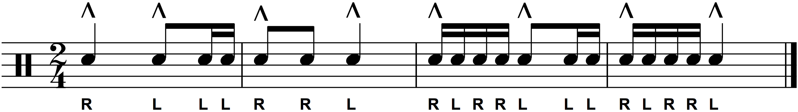 Paradiddle Breakdown