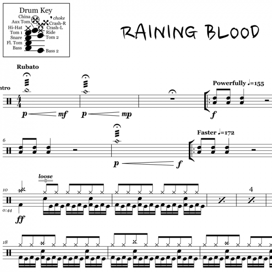Raining Blood – Slayer