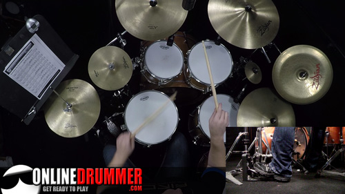 Drum Lesson - Extending The Drum Fill
