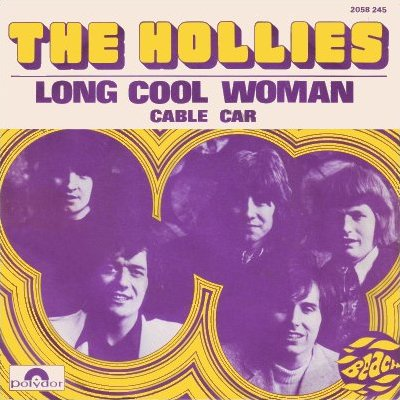Long Cool Woman in a Black Dress - The Hollies - Drum Sheet Music