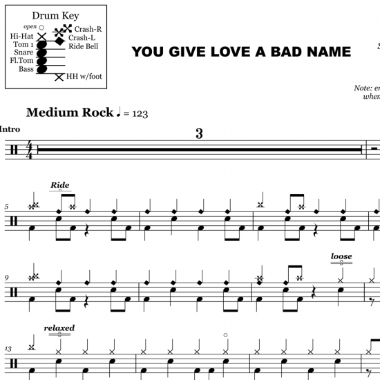 You Give Love A Bad Name – Bon Jovi