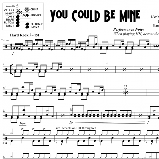 You Could Be Mine – Guns N Roses