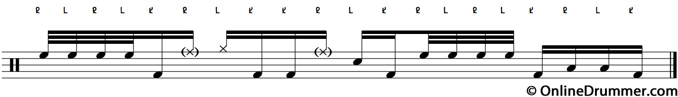 A Quick, Fun Linear Drum Lick