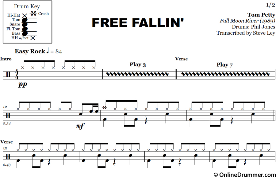 Superb image intended for free printable drum sheet music