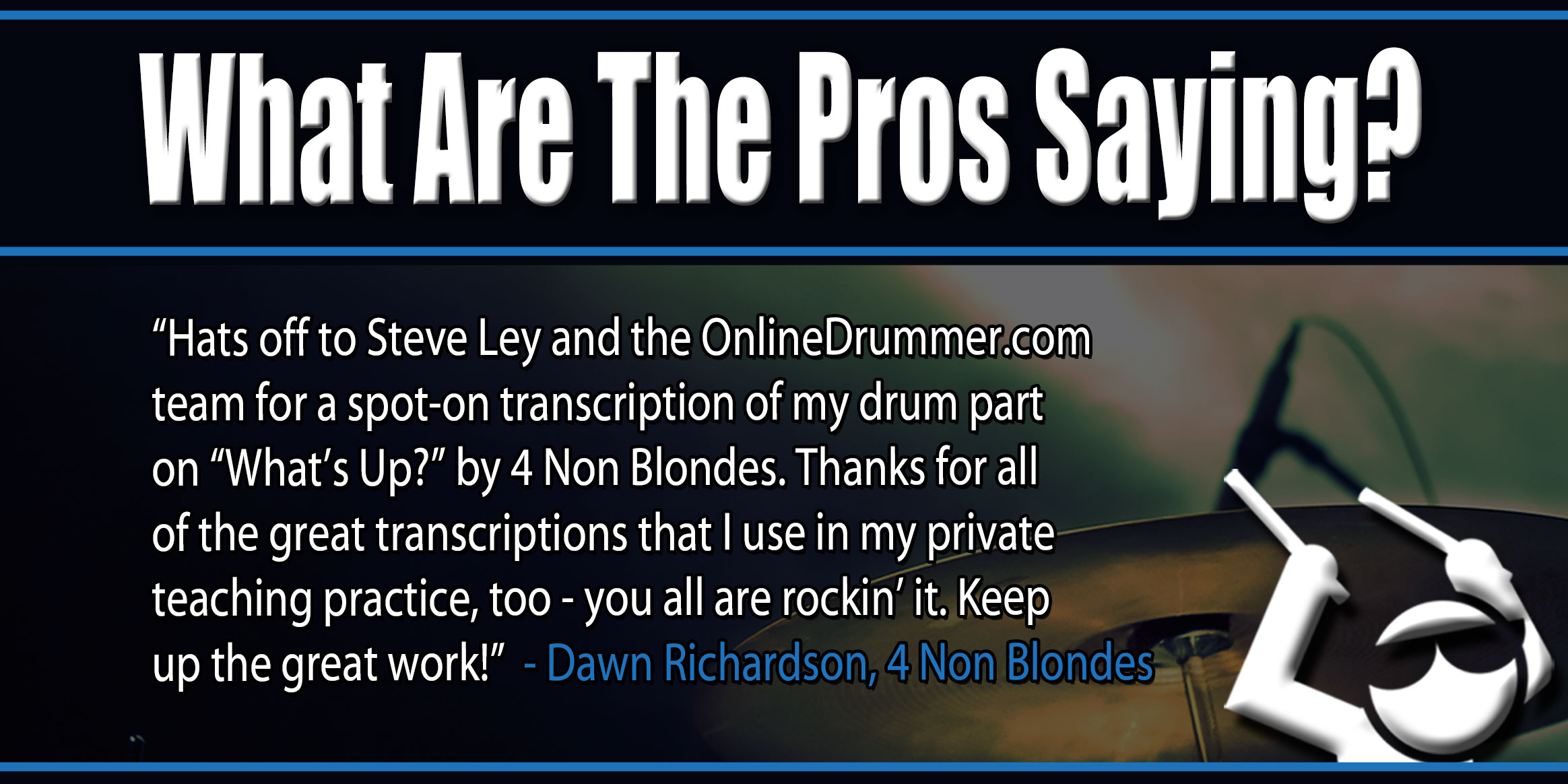 Drum sheet music and lessons onlinedrummer get ready to play recent drum sheet music fandeluxe Images