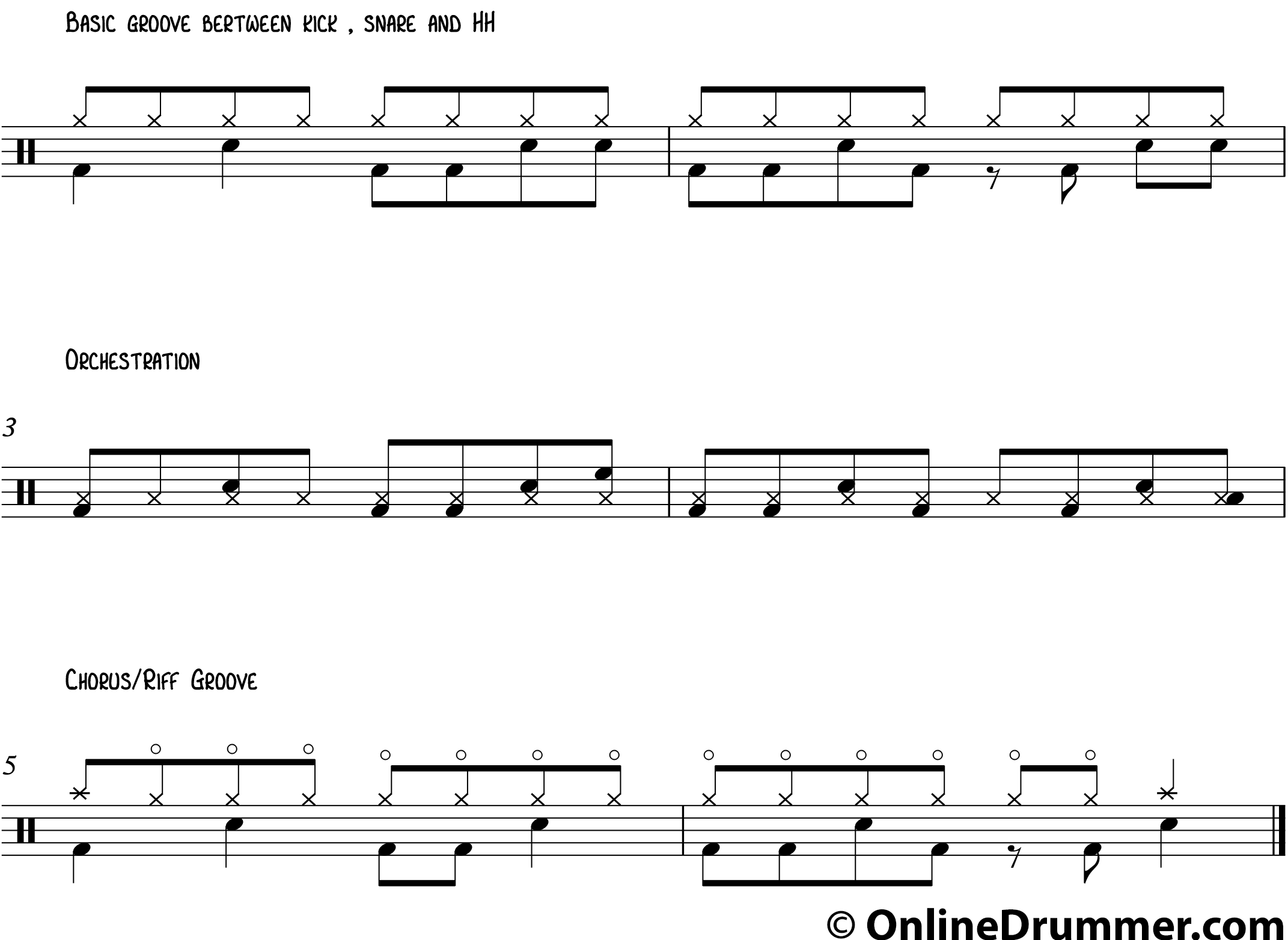 how to read drum music pdf
