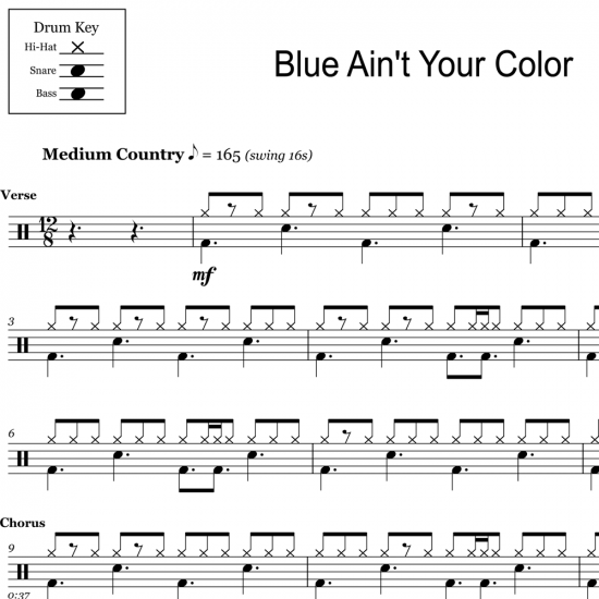 Blue Ain't Your Color - Keith Urban