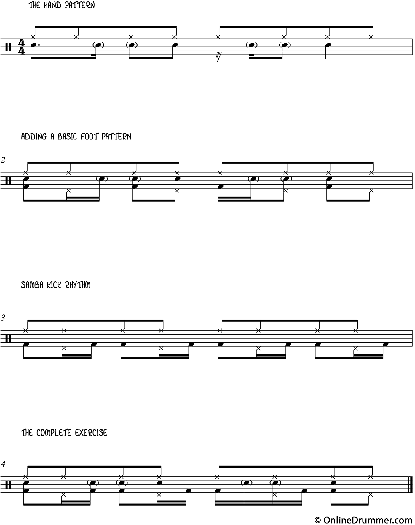 Awesome Independence Exercise - Grooves