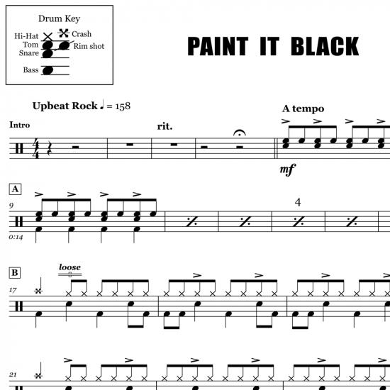 Paint It Black - The Rolling Stones