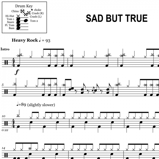 Sad But True – Metallica