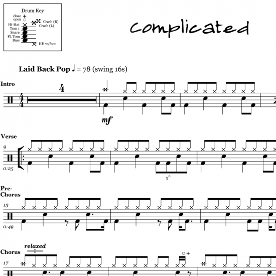 Complicated – Avril Lavigne