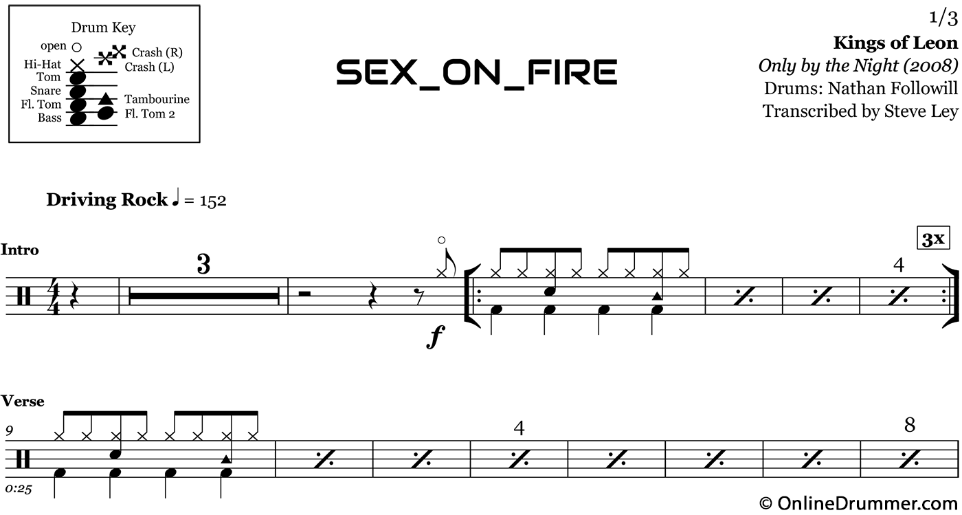 kings of leon sex is on fire download