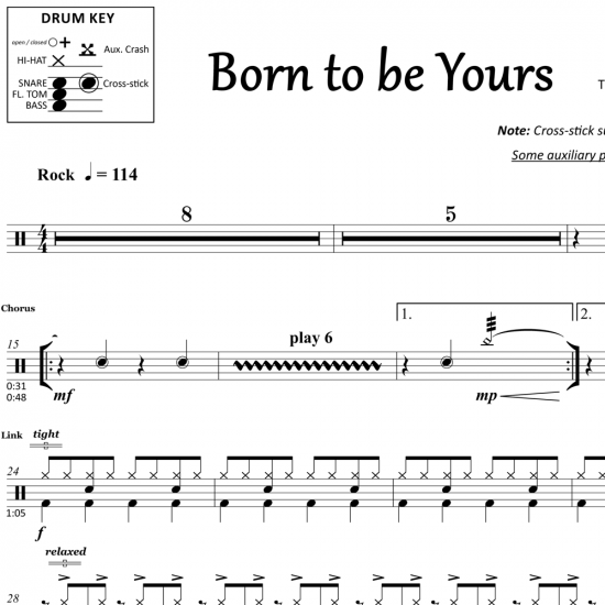 Born To Be Yours – Kygo & Imagine Dragons