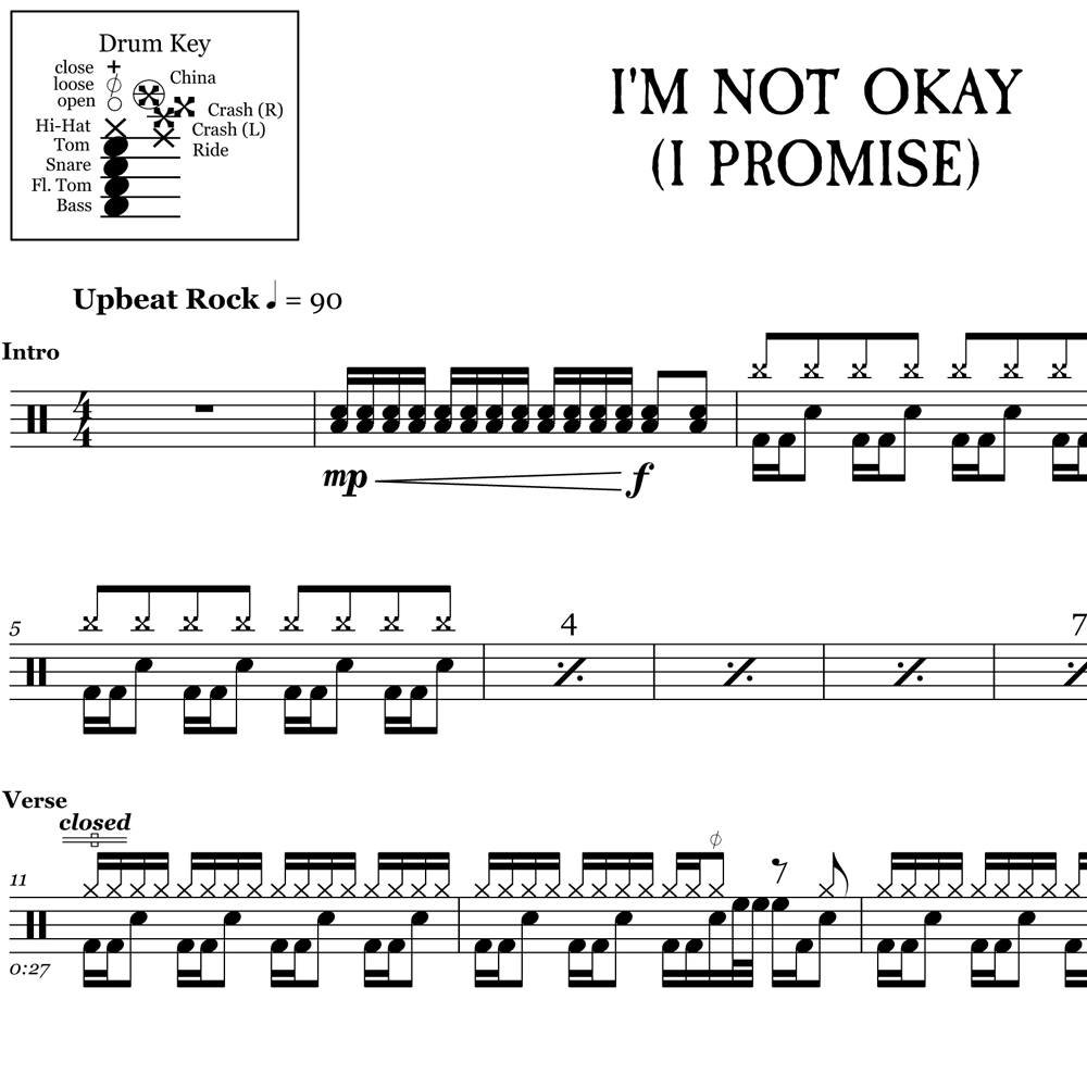 I'm Not Okay (I Promise) - My Chemical Romance