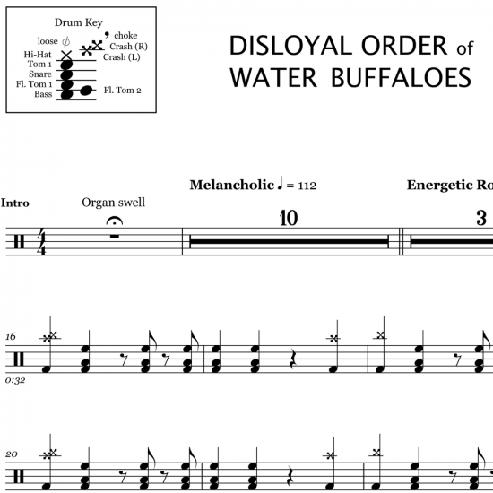 Disloyal Order of Water Buffaloes – Fall Out Boy