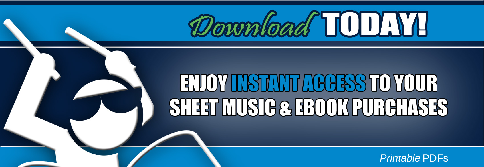 Downloadable Drum Sheet Music
