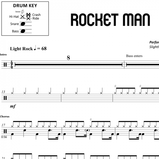 Rocket Man – Elton John